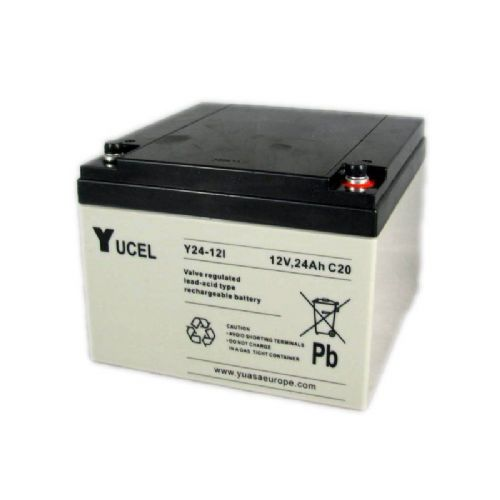 Y24-12 Yucel 12v 24Ah Battery